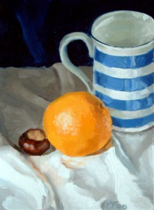 Conker, Orange and Cup