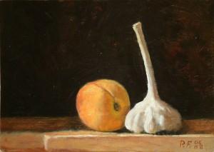 Garlic and Peach