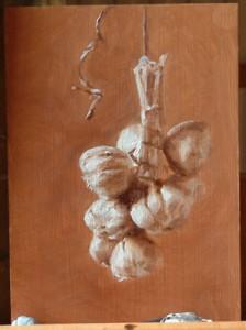 Study for Hanging Garlic