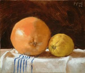 Pink Grapefruit and Lemon