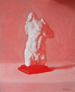 Red Cast Painting