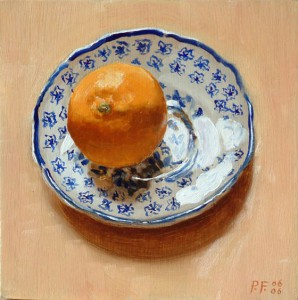 Wedgwood Saucer and Clementine